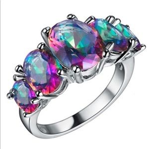 Jewelry - Rainbow topaz ring